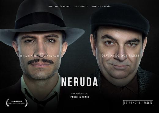Larrain's NERUDA (2016)