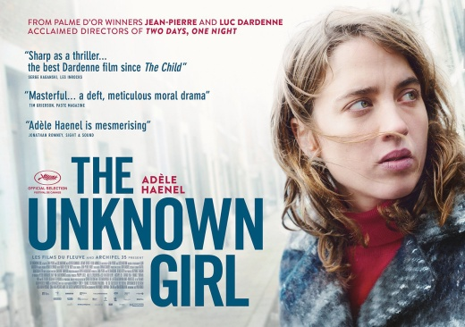 Dardenne bros' THE UNKNOWN GIRL (2016)